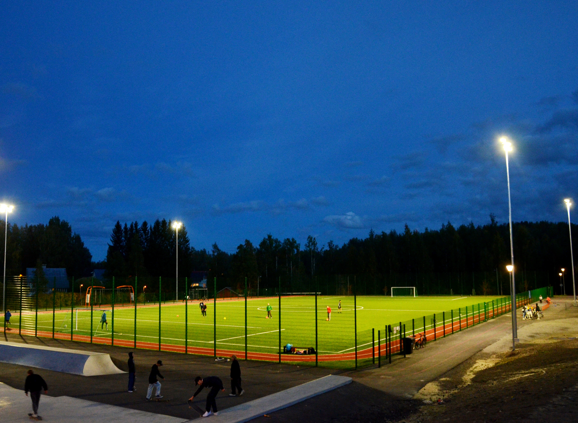 Aluesähköistykset Jyväskylässä